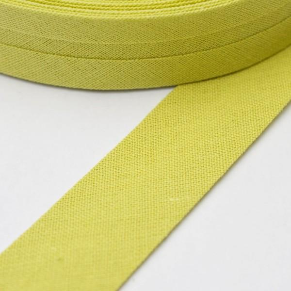 Schrägband, 20 mm, helles oliv