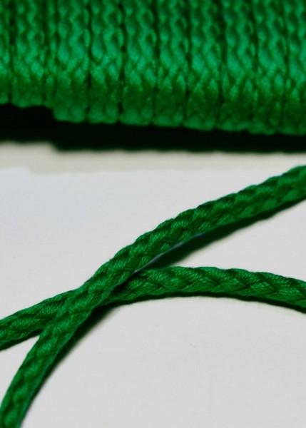 Flechtkordel, 6 mm, grün