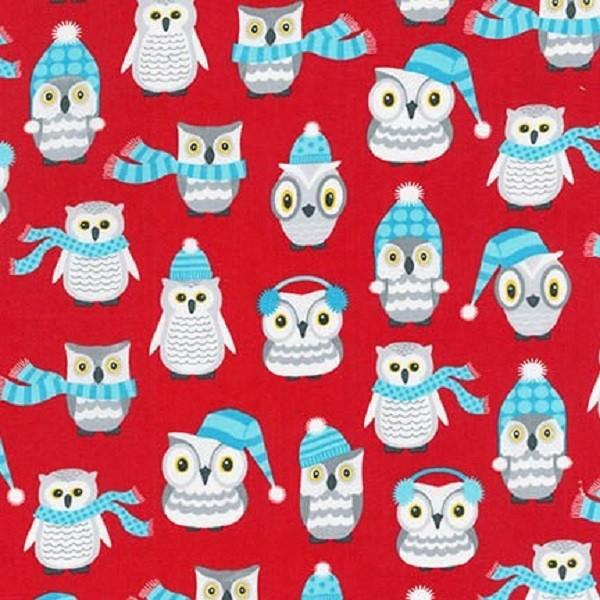 R. Kaufman, Polar Owlss rot, Webstoff