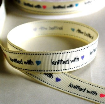 knitted with love, Ripsband