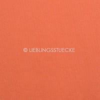 Ripp-Bündchen orange