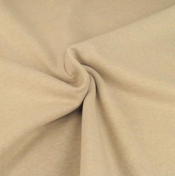 Kuschelsweat, beige-meliert