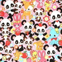 Cosmo Panda and Friends, Webstoff, *SALE*