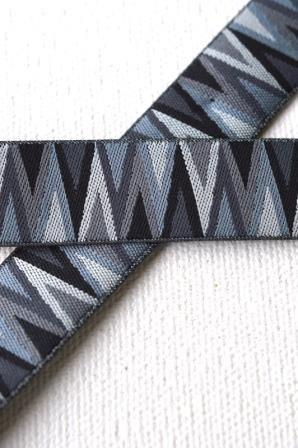 Triangle Tips, schwarz, Webband