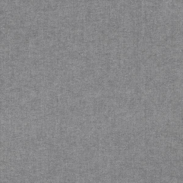 Oxford schwarz-meliert, Baumwollpopeline, waschbar bei 60°