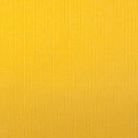 Ripp-Bündchen gelb