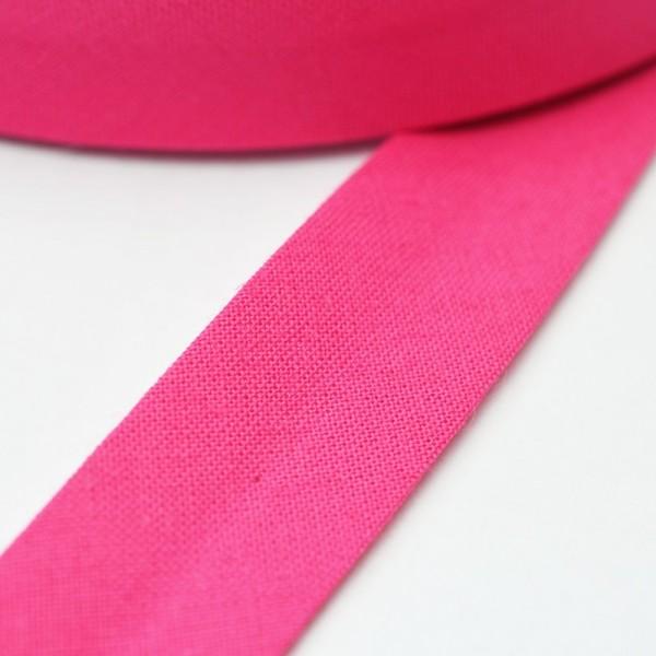 Schrägband, 20 mm, pink