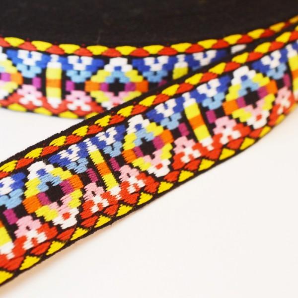 Inka, regenbogen hell, Webband breit