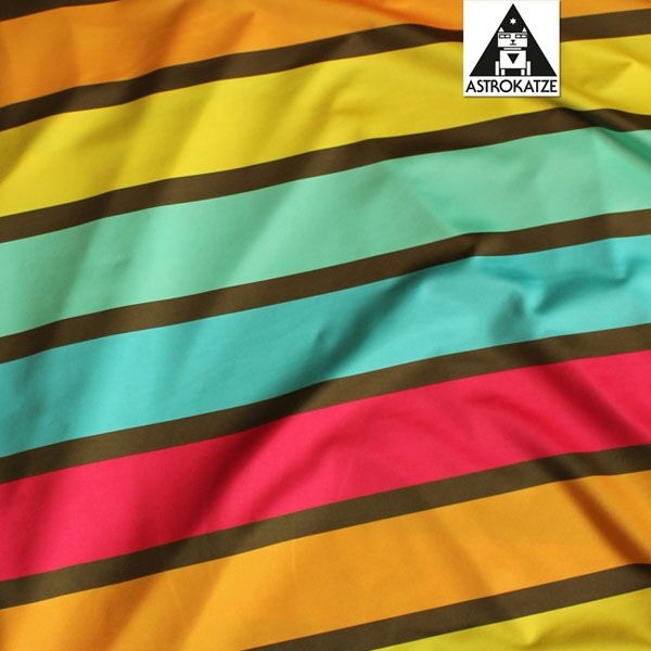 Badeanzugstoff, Summer Stripes Girls