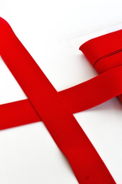 Gummiband breit, rot