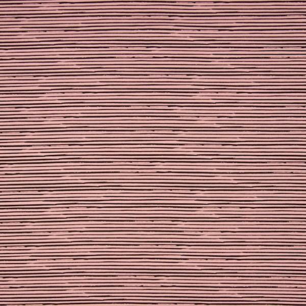 Stripe, schwarz auf altrosa, Jersey