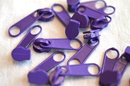 Schieber für Endlos-RV, dunkles violett
