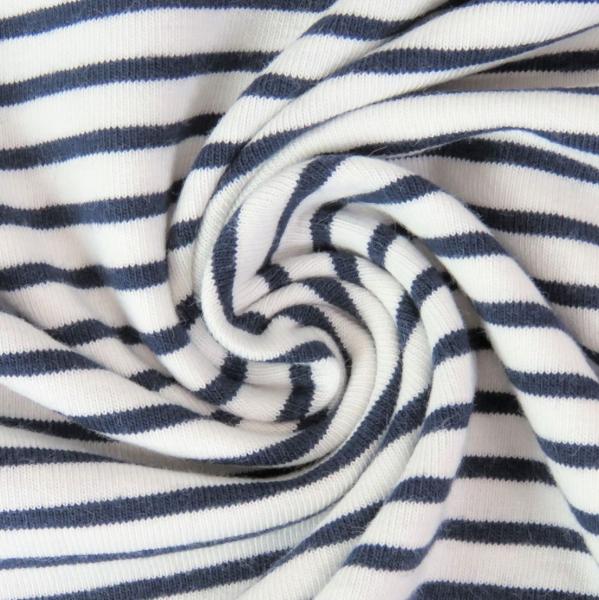Carli, Streifenjersey dunkelblau auf weiß