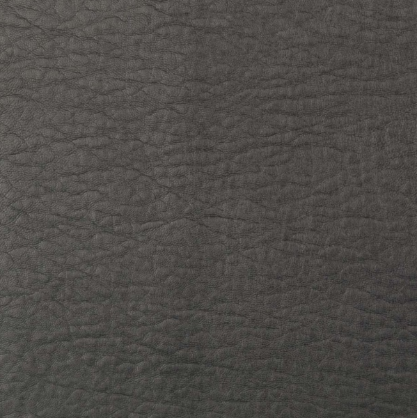 Strukturiertes Lederimitat mit Viskose, grau