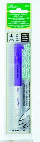 CLOVER Luftlöslicher Vorzeichenstift mit Radierer