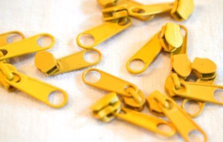 Schieber für Endlos-RV, gelb