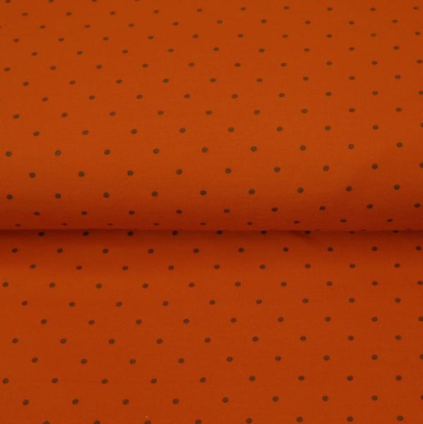 Stenzo Jersey Pünktchen schwarz auf rostorange