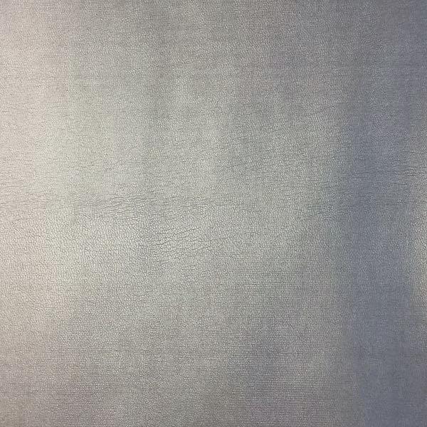 Lederimitat mit Viskose, glatt silber