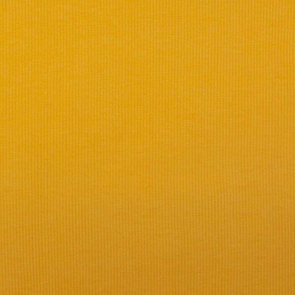 Ripp-Bündchen senfgelb