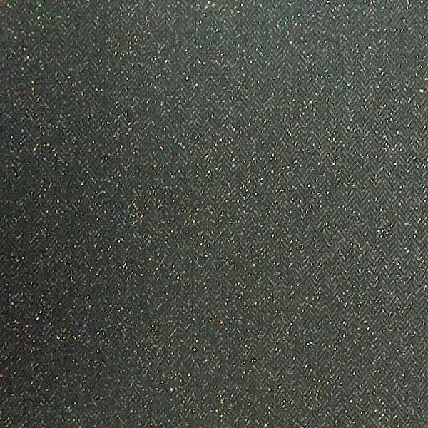 Tweed Fischgrät, schwarz