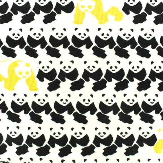 Find the Panda weiß, Jersey, *Letztes Stück ca. 100 cm*