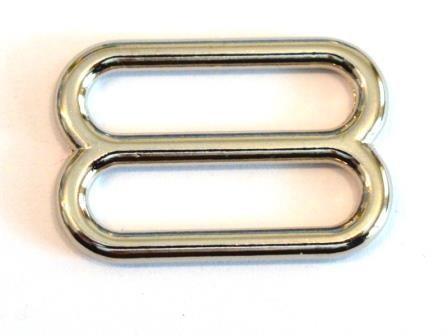 Leiterschnalle, 30 mm, silber