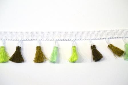 Tasselborte, grün-oliv