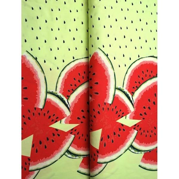 Stenzo Jersey, Melonen auf grün Bordüre