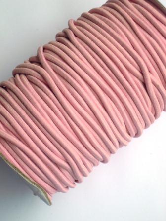 Gummischnur, 3 mm, rosa