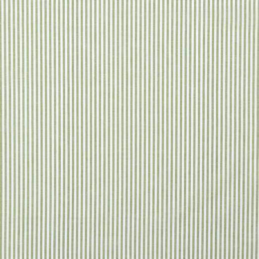 Streifenstoff waldgrün, Yarn Dyed, Baumwollpopeline, waschbar bei 60°