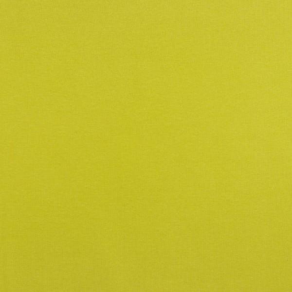 Glattes Bündchen gelbgrün