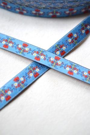 Tulips, blau, Webband