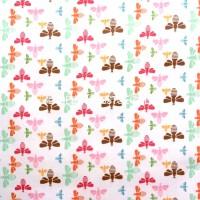 R. Blake Flower Patch, Bees Multi, Webstoff *SALE*