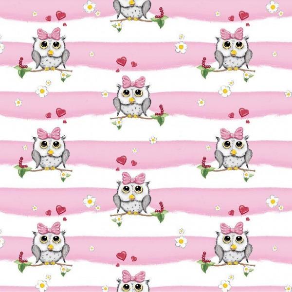 Jersey Valentine Owls, rosa-weiß