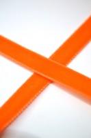Samtband, 9 mm, dunkles orange