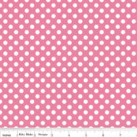 Riley Blake Small Dots Pink
