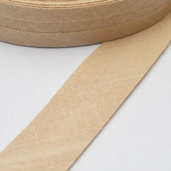 Schrägband, 20 mm, sand