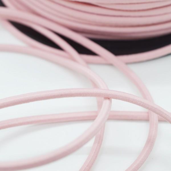 Gummischnur, 3 mm, rosé