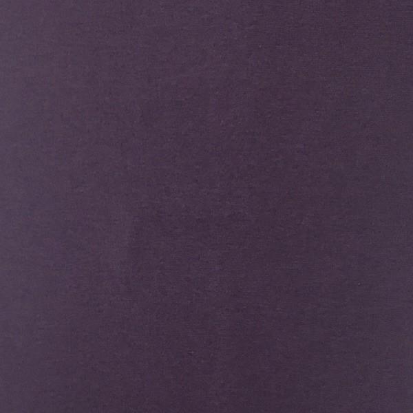 Glattes Bündchen dunkles violett