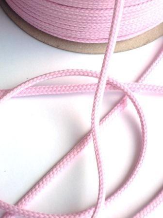 Schnur, 4 mm, rosa