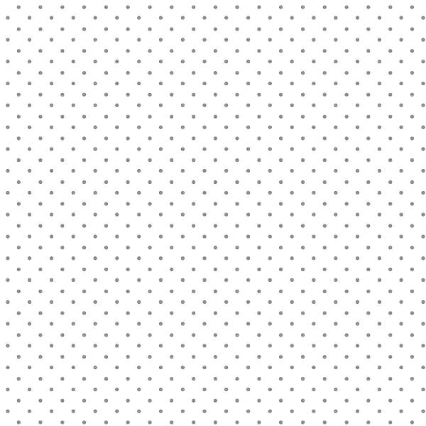 Lili Punkte klein, grau auf weiß, Webstoff, waschbar bei 60°