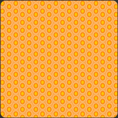 Art Gallery Oval Elements Papaya Orange, Webstoff