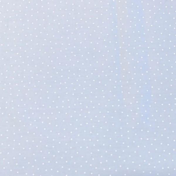 Mini Stars, hellblau, Webstoff