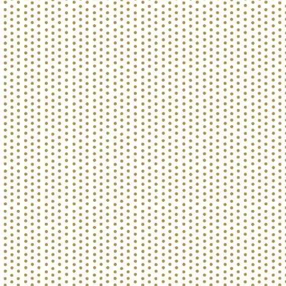 Xmas, Goldpünktchen auf offwhite, Baumwollstoff