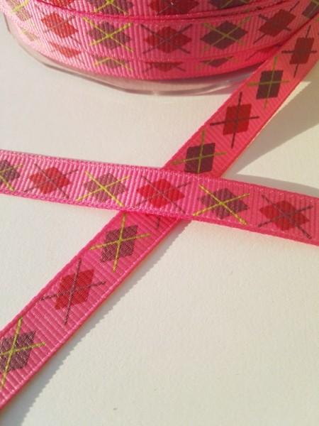 Karo pink, Ripsband