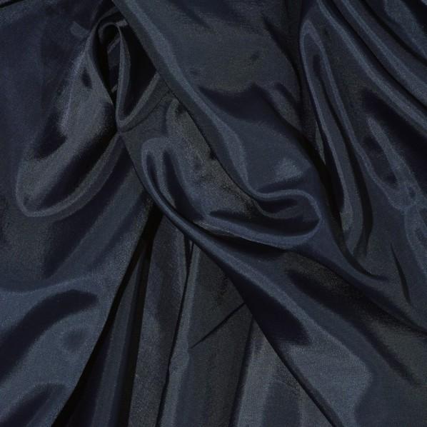 Futterseide dunkelblau