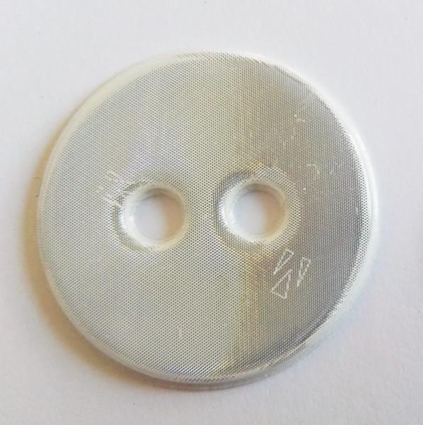 reflektierender, runder, weicher Knopf, weiß