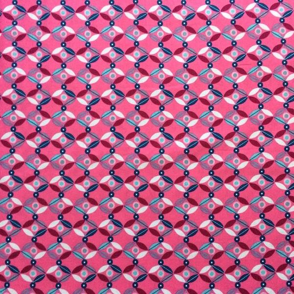 Tante Ema, Blütenlounge pink, Webstoff