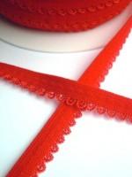Wäschegummi, rot