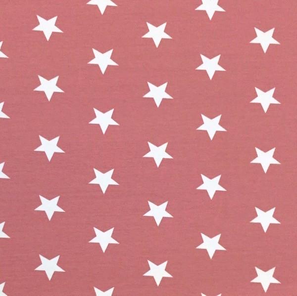 Stars weiß auf altrosa, Jersey